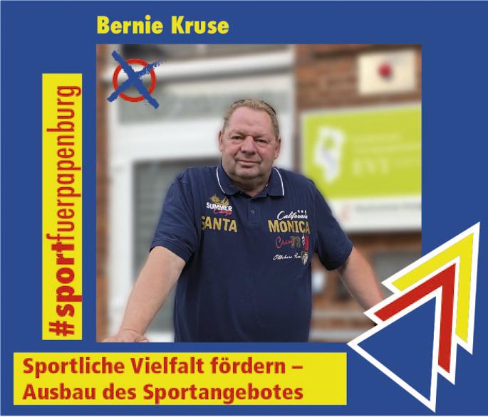 Bernie Kruse – Sport