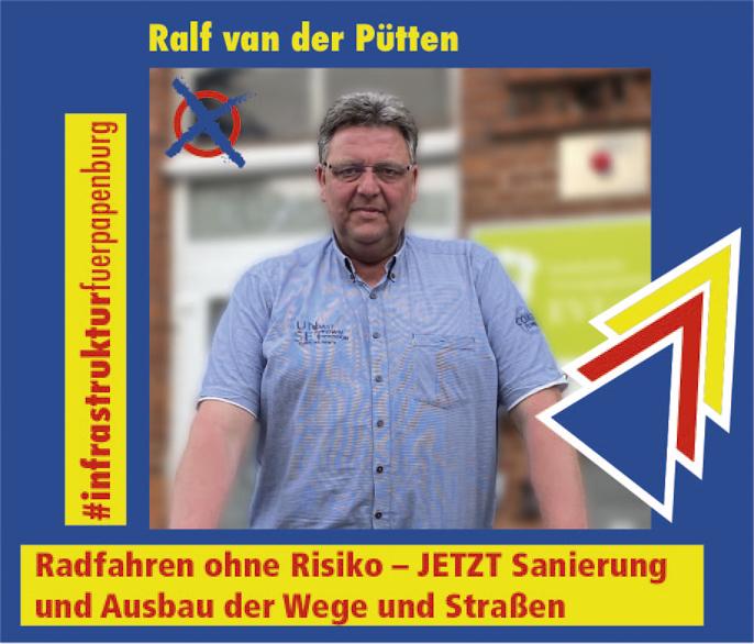 Ralf van der Pütten – Infrastruktur