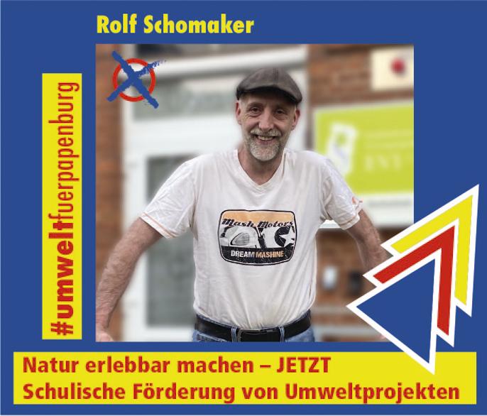 Rolf Schomaker – Umwelt